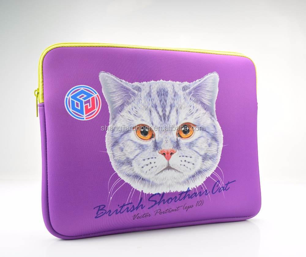 Cover Free Sample 2017 New Cute Neoprene Laptop bag