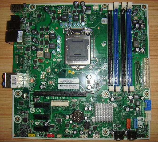 for HP P55, Indio-UL8E Elite7000 MS-7613,motherboard mainboard