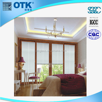 China supplier 26*64 inch 660*1792mm etc glass blinds