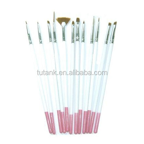 Nail Art Design Gel Painting Dotting Draw Pen Brush Set for decoration