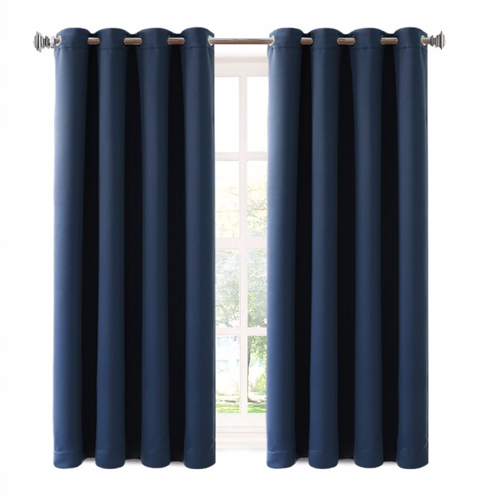Grommet Polyester Turkish Curtains