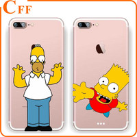 Lovely Naughty Simpson Family Soft TPU Phone Cover Case For Samsung Galaxy A5 A7 A8 2016 J5 J7 S5 S6 S7 Edge Plus Grand Prime