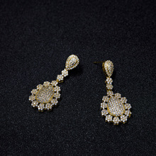 brand new product one gram gold earrings designs jewelry high quality