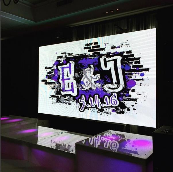 P6 Indoor LED Display High Brightness Video LED Full Color Screen Rental Video Stage Using LED RGB Panel Sign