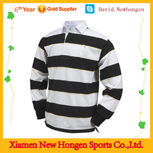 2015 Ireland new design 100% polyster fabric rugby jersey for wholesale