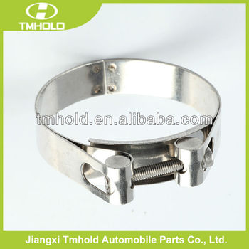 galvanized heavy industry locking tube clamp with single bolt
