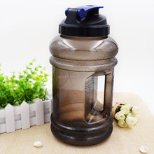 PETG Plastic Type and Plastic Material 2.2l plastic water jug with handle/water bottle