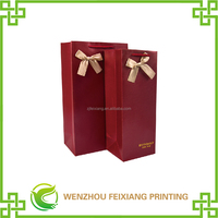 China Paper Bag With Logo Print Manufactures Popular Customized Gift Paper Bag