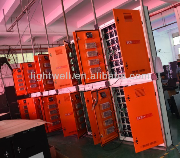 p2.5 led video wall outdoor led display with die casting aluminum cabinet