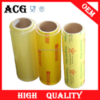 Cling Film Usage and Moisture Proof Feature pvc food wrap film