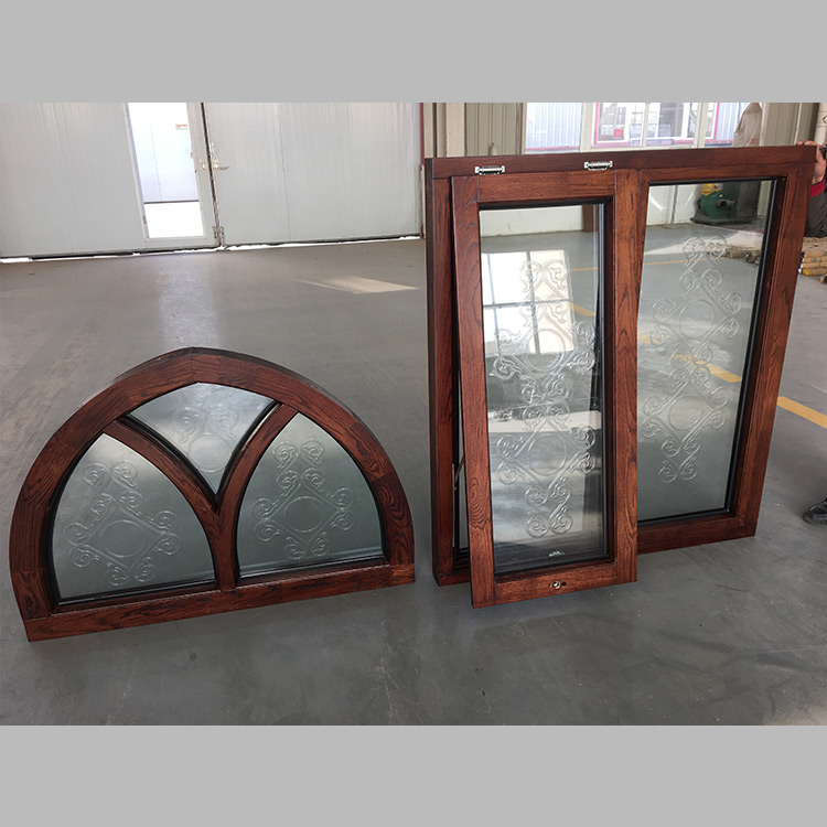 Special Shape Windows with Art Glass for Canadian Customer