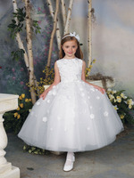 Graceful small dresses for girls wedding formal dresses designs flower girl dress patterns