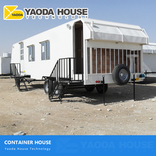 Luxury Modularization Modular Mobile Living Container House Kits On Trailer