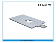 China factory wholesale gift cool usb flash drive cards