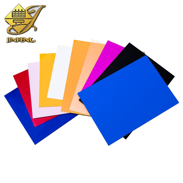 Hard Matt Opaque Colored PVC Plastic Sheet