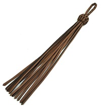 Wholesale Fashion leather tassel for handbag & suede tassel for keychain