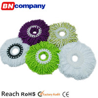 Nonwoven Virgin Microfiber Yarn with Own Dust Mop Making Machine Mop Head