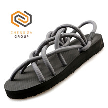 New Summer Fashion Elastic Rope Beach Lightweight Unisex Casual Outdoor Sandals