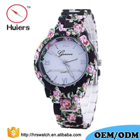 Latest Ladies Fancy Girls Fashion Flower bracelt Wrist Watches