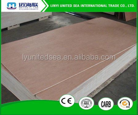 18mm 15-Ply Boards Plywood Type E1 glue flexible plywood for sale