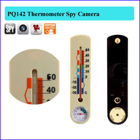 Home air thermometer camera with motion sensor thermograph hidden camera/take photo spy DVR weatherglass Camcorder PQ142