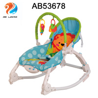 NEW Design Kids Iron Electric Swing Folding Portable Baby Cradle Rocking Chair With Vibration And Music