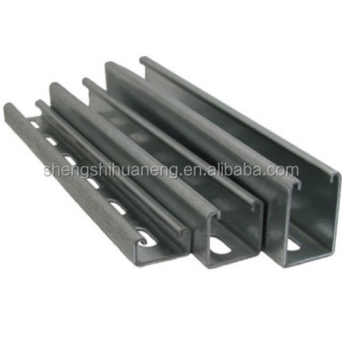 Galvanized perforated struture channel/C channel