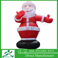 2015 New Design Inflatable Christmas Father, Inflatable Santa Clause Balloon