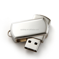 High quality and hot sales rotating Metal USB Flash Drives with cheaper price