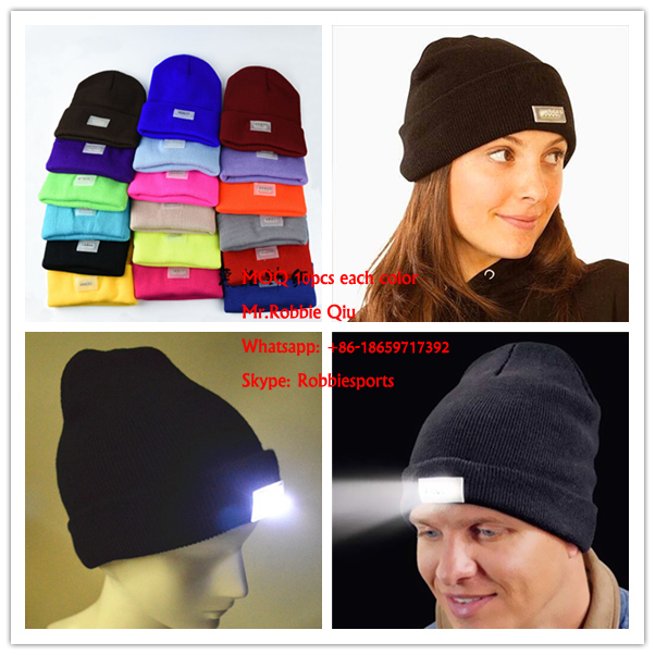 Wholesale Flashing Baseball <strong>Caps</strong> with LED Lights / LEDcap light / LED Hats