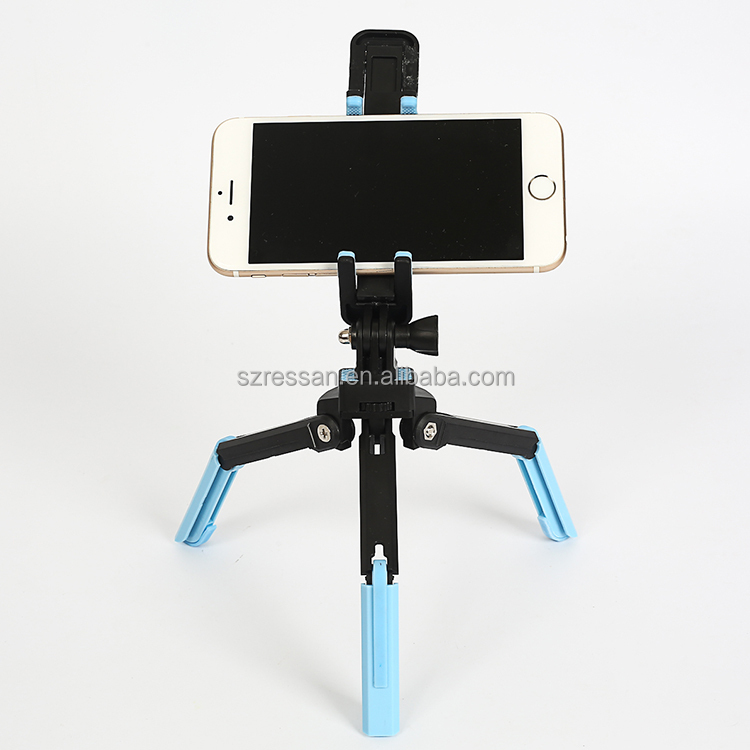 factory price Flexible Portable Camera Tripod with Mobile Phone Mount