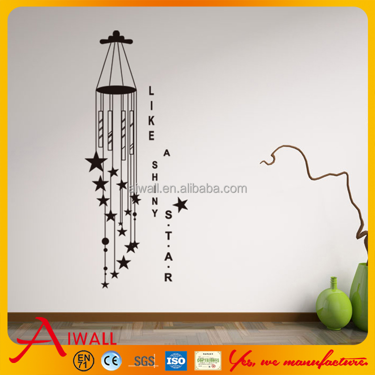 9120 Star Wall Sticker Online Quote Decalsl for Kids Room Wall <strong>Art</strong>