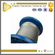 capacity of galvanized steel wire rope 10mm 8mm