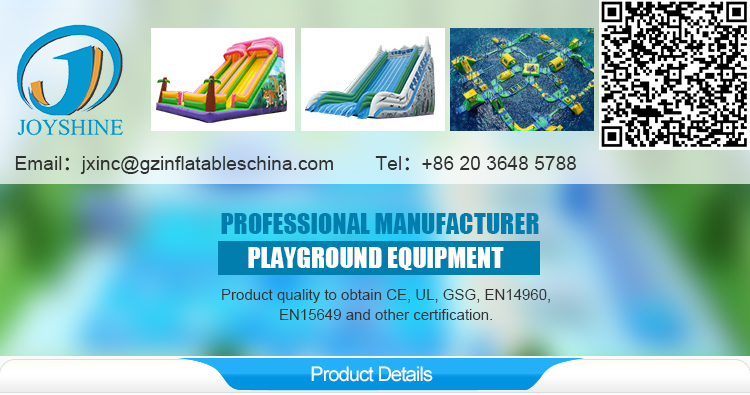 hot sale inflatable water park slides for pool