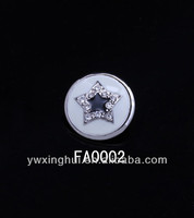 New products 2014 white star shaped buttons, metal star buttons, star button