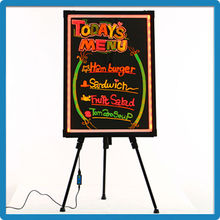 Aluminum Alloy Frame Double Long Sides Light New Products Led Writing Sign Board