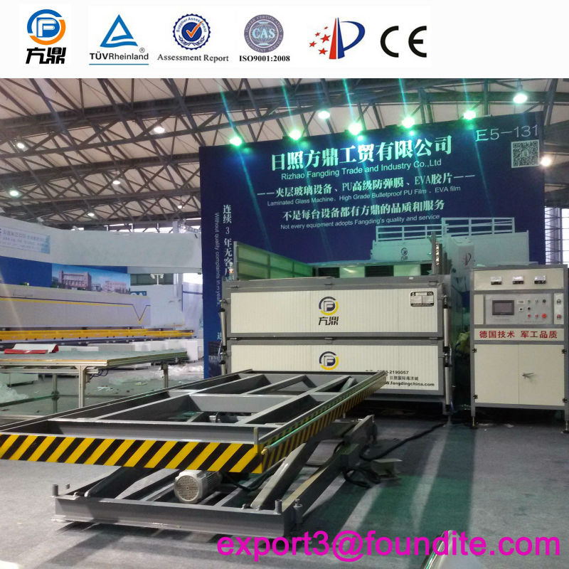 Glass Lamination Autoclave, auto glass, laminated glass, bullet resistance glass, curved glass oven