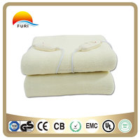 High Quality 220V 110V Synthetic wool Electric Blanket with competitive price