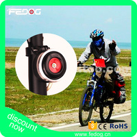 China Wholesale Aluminum Handlebar Ring Battery Loud Voice Bicycle Horn