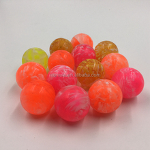 Vortical Bouncing Rubber Ball