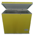 Made in China dc solar power fridge chest freezer with solar panel