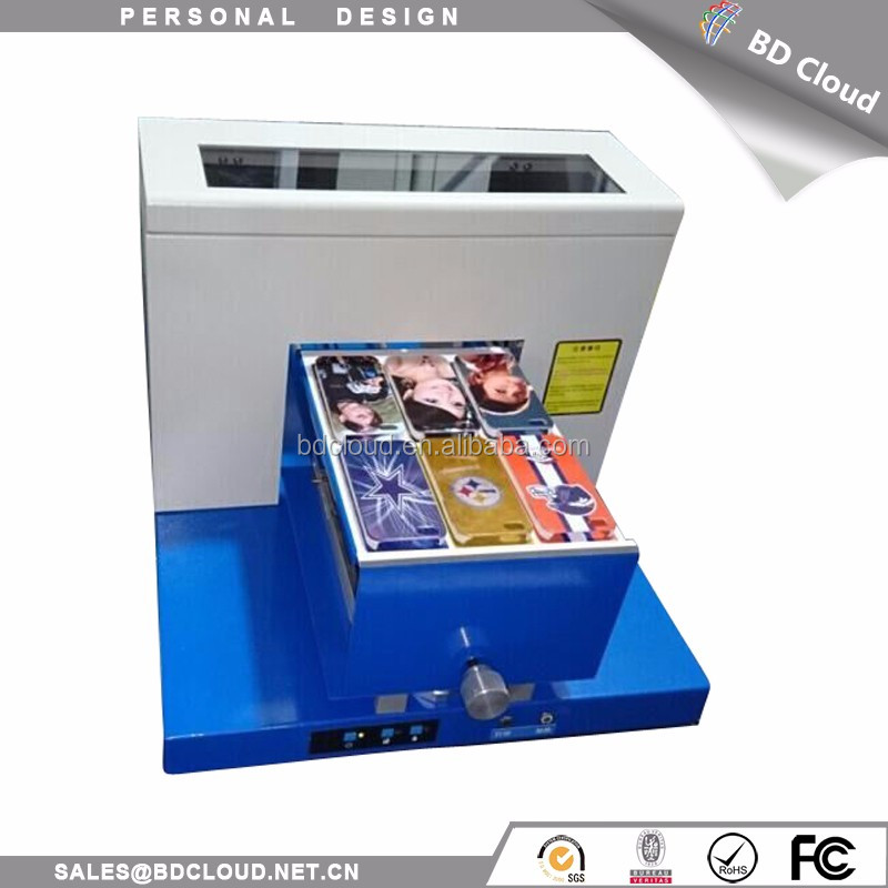 high speed low cost custom gifts mobile case flatbed printer
