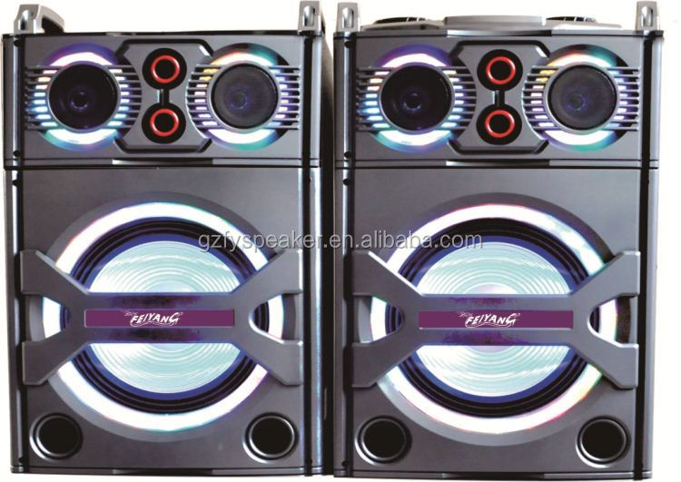 "feiyang speaker 2.0 active stage speaker 10"" woofer with bluetooth popular top"