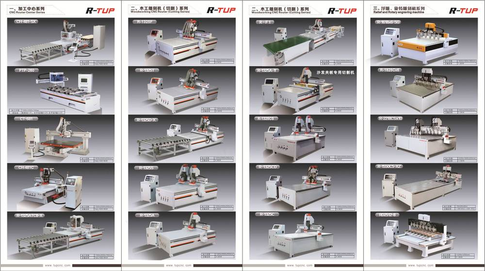 China supplier 4x8 ft cnc router machine price
