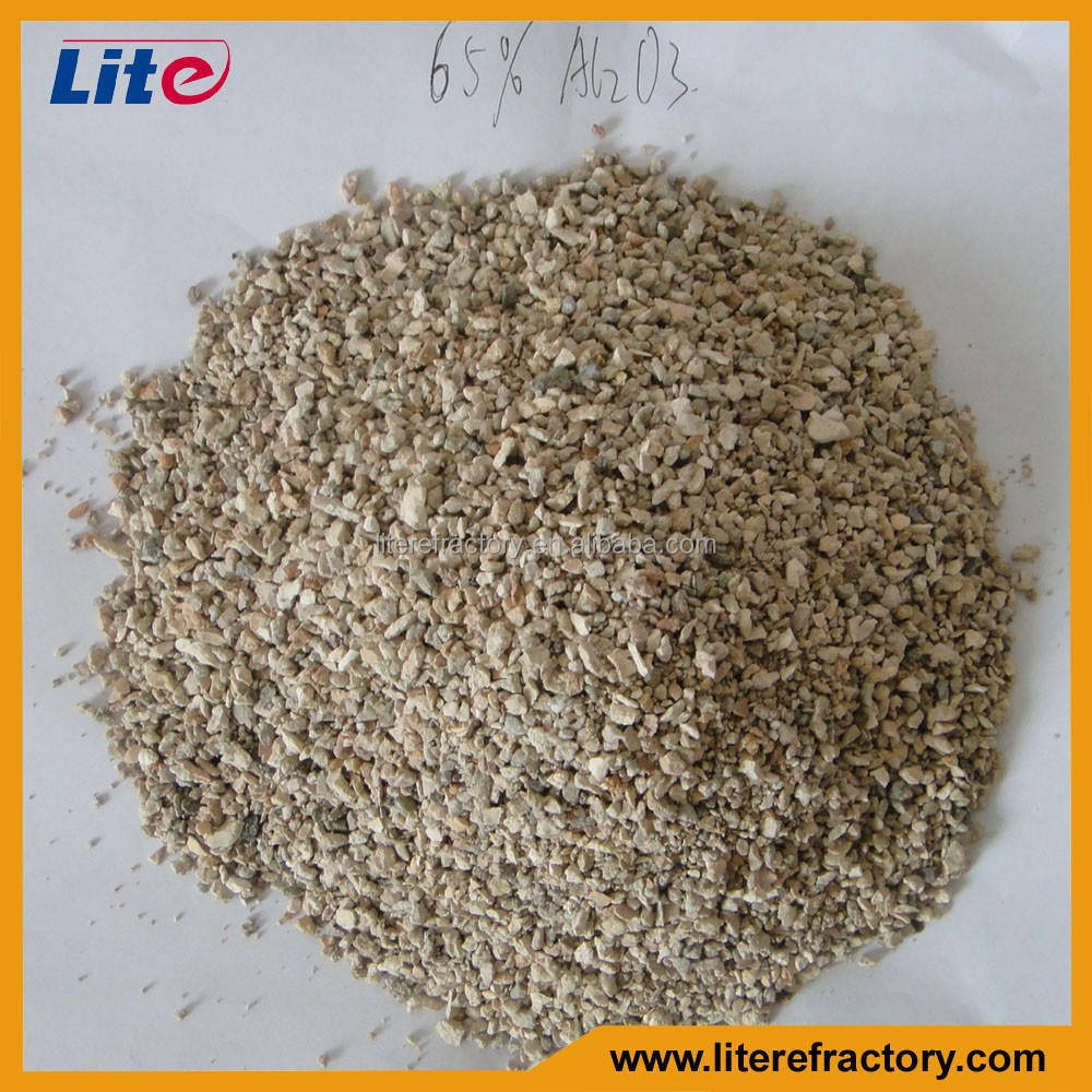 High Alumina Content 75% 80% 86% Grade Raw Material Bauxite for Refractory