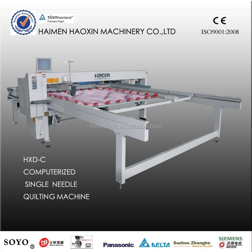 HXD-C Computerized single needle quilting machine, mattress making mahcine, quilt making machine INDUSTRIAL QUILTING MACHINE