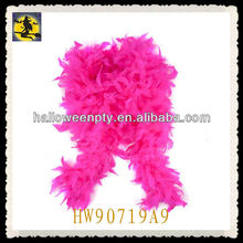 2013 Most Popular Rose Long Sexy Ostrich Feather Boa