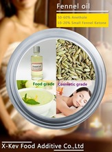 market price small fennel seed oil with high assay of anethole and ketone