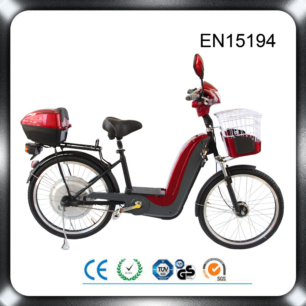 Cheap 36v 350w electric bicycle lead acid battery operated scooters