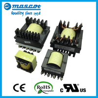 EC type high frequency electric power transformer